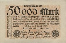 Ro.098 50.000 mark 1923 (UNC)
