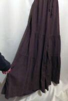NWT Match Point La. FIXSUN Linen Pants Brown Wide Tiered Pant Legs Size XL