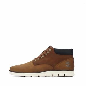 Timberland Bradstreet Chukka Leather Men's Brown Boots Shoes