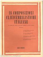 18 Kompositionen Clavicembalistiche Italiane (Silvestri) - Erinnerungen