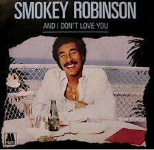 ++SMOKEY ROBINSON and i don't love you/dynamite SP 1984 MOTOWN VG++
