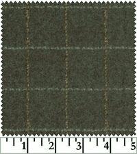 Shadow Play  Woolies - Flannel - Dark Green Plaid F1879-K