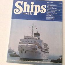 Ships Monthly Magazine Uganda Story Irvine's Tide Marker May 1985 062517nonrh2