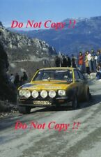 Walter Rohrl OPEL KADETT GT/E MONTE CARLO RALLY 1977 fotografia 1