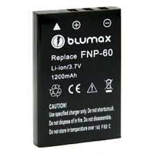 Blumax batería para Fujifilm Fuji np-60 np60 1200mah 3,7v Li-ion accu