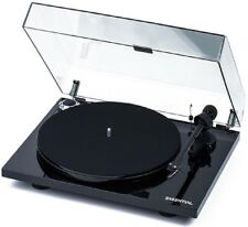 Pro-Ject Essential III Turntable OM10 Black Vinyl Project Record Player - 5 Star