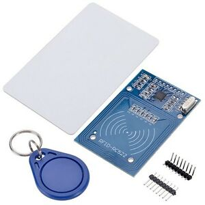 1114 - Lettore di smart card contactless - RFID 13.56MHz Mifare RC522