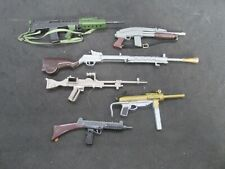 Group of  G.I. Joe or other action figure military weapons accessories        (M