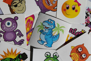 Children's Tattoos Temporary Party Bag Fillers Weddings Fundraising