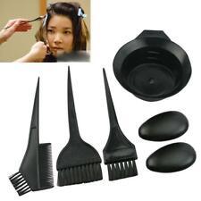 5pcs / Set Hair Colouring Brush And Bowl Set Bleaching Dye Kit Salon Comb Tint L