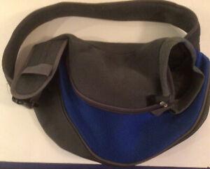 Pet Dog Cat Puppy Carrier Comfort Tote Shoulder Travel Bag Sling Backpack Blue