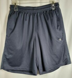 Champion Boys' Performance Double Dry Shorts Medium Navy Youth