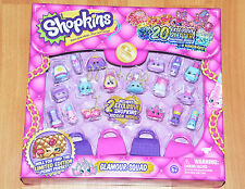 EXCLUSIVE New 2016 Shopkins GLAMOUR SQUAD Glitter Collection Xmas Gift SOLD OUT