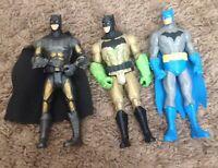 Dc Comics Batman Action Figure Lot Superhero Cape Joker Enemy Nemesis Foe