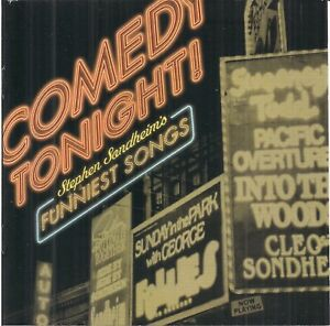 Various - Comedy Tonight! Stephen Sondheim's Funniest Songs (2002) CD