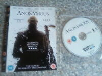 Dvd anonymous disc only (228)