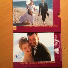 Nederland Huwelijksset 2003 BU