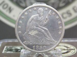 "1850 ""O"" Seated Liberty Half Dollar $1 #1 East Coast Coin & Collectables, Inc"