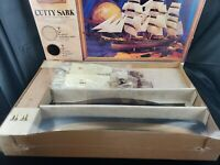 Vintage 1978 Revell Museum Classics Cutty Sark Very Lg Scale Kit Sealed Contents