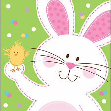18 x Easter Napkins Bunny & Chick Easter Tableware Easter Party Tableware