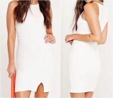 Missguided Square Neck Stretch, Bodycon Dresses for Women