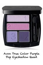 Avon True Color Eyeshadow Quad Romantic Mauves