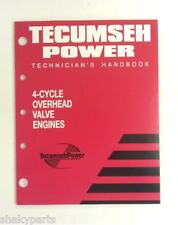 tecumseh ohv 4 cycle small engine repair manual