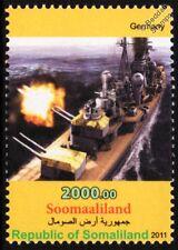 WWII Kriegsmarine Admiral Hipper Class Heavy Cruiser Warship Stamp