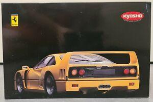 Ferrari F40 Yellow Kyosho 1/12 Metal Die Cast (no GT Spirit no 1/18) ref 08602Y