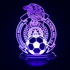 Mexico Futbol Led Lamp Soccer Night Light
