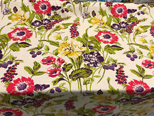 Braemore Becca Fiesta Floral Linen Fabric by the yard