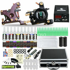 Great-Tattoos 2 Machine Guns 6 Color Inks Supply Tattoo Starter Kit