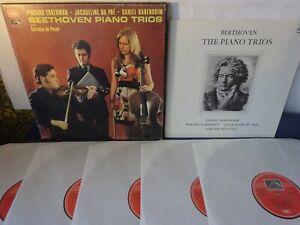 NM BEETHOVEN - PIANO TRIOS 5LP BOX, Jaqueline Du Pre, Zukerman, EMI SLS 789/5