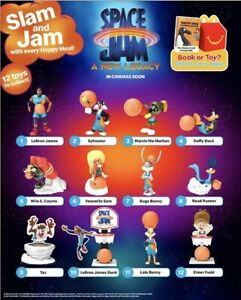 2021 McDONALD'S WB Space Jam New Legacy Lebron HAPPY MEAL Toys U Pick A Piece