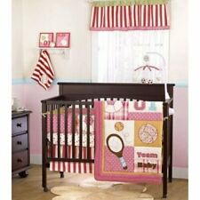 Cocalo Play Date Sports 4 Piece Baby Crib Bedding Set