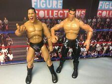 WWE Wrestling Jakks Final Count Finishing Moves Series Kurt Angle Rock Figures