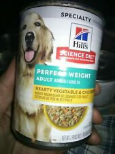 Hill's Science Diet Canned Wet Dog Food, Adult, Vegetable & Chicken | Stew 11/21