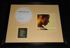 Sade Framed 11x14 Lovers Rock 2002 CD & Photo Display