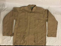 NWOT's 3rd Party Military Style Tan / Beige Cargo Jacket Top Large Regular