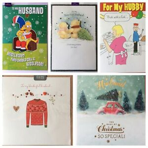 Husband Christmas card    (£)
