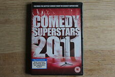 Comedy Superstars 2011 - 11 Comics - Region 2 (UK) DVD - FREE UK 1ST CLASS P&P