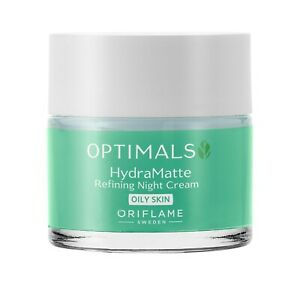 Optimals Hydra Matte Refining Night Cream Oily Skin 50 ml 34304 Oriflame Sweden