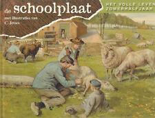 DE SCHOOLPLAAT (HET VOLLE LEVEN ZOMERHALFJAAR) - C. Jetses (Illustraties)