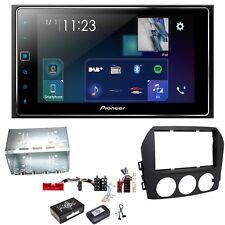 Pioneer SPH-DA130DAB CarPlay DAB+ Bluetooth USB Einbauset für Mazda MX-5 NC