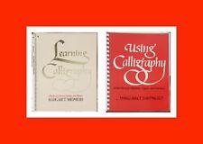 ☆2 Exc Calligraphy Books-Margaret Shepherd-Learning+Using:L etter/Alphabet/Design