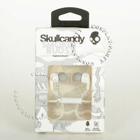 Skullcandy Smokin' Buds 2 In-Ear Buds Headphones Headsets w/Mic - White / Gray