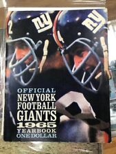 Official New York Football Giants 1965 Yearbook