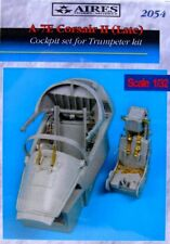 Aires 1/32 A-7E Corsair II tarde cabina Set para Trumpeter KIT # 2054