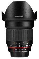 Samyang Wide Angle E mount Camera Lenses