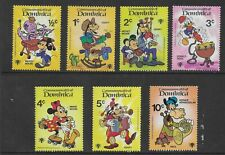 HICK GIRL- MINT DOMINICA STAMPS    DISNEY  PLAYING INSTRUMENTS        T195